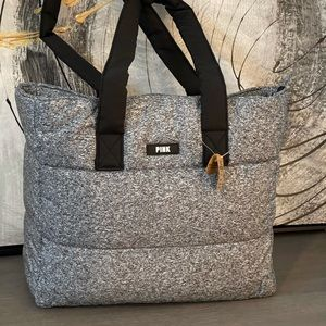 New VS PINK QUILTED TOTE